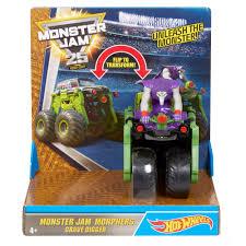 monster jam dog truck wheels monster jam monster morphers grave digger vehicle