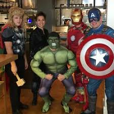 Halloween Costumes Hulk Bunch Restaurant Workers Halloween Costumes