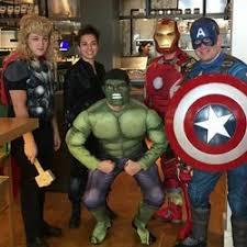 Avengers Halloween Costume Bunch Restaurant Workers Halloween Costumes