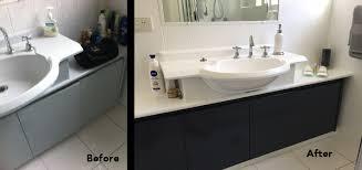 Resurface Vanity Top Renew Bathrooms And Kitchens Gold Coast