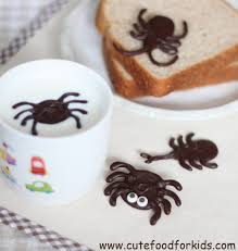 cute food for kids chocolate bugs for halloween or bug theme party
