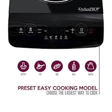 Comforday Digital Timer 7 Day by Kitchenpro Induction Cooker Burner With Touch Control And Timer