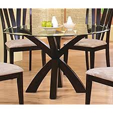 Amazoncom See Glass Dining Table Base Only Tables - Glass dining room table bases