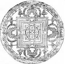 coloring page tibetan mandala coloring pages coloring page and