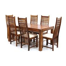 round dining room table for 4 image dining room wood furniture jali sheesham table chairs 6