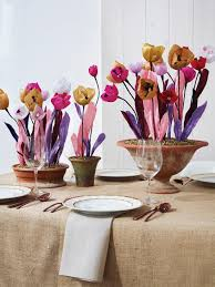 paper flower centerpieces make a paper flower centerpiece hgtv