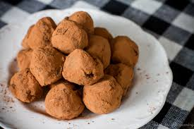 ginger orange chocolate truffles poet in the pantry