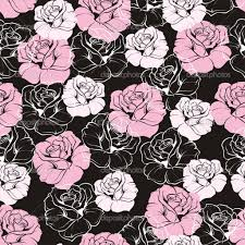 Cute Black And White Wallpapers by Captivating Pink And Black Flower Wallpaper Cute Home Decor