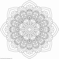 flower mandala coloring pages 346 u2013 getcoloringpages org
