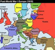 post ww1 map image result for political map of europe after ww1 number the