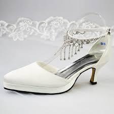 ivory satin wedding shoes pointed toe rivets design high heel fashion pumps ivory satin