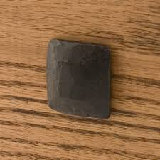 hand forged iron flat square nail head clavos set of 6 hardware