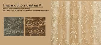 Sheer Panel Curtains Sheer Panel Curtains