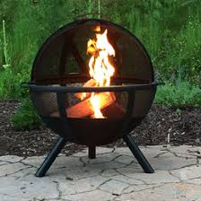 Texas Fire Pit by Wood Burning Fire Pits Cast Iron Steel Metal Copper