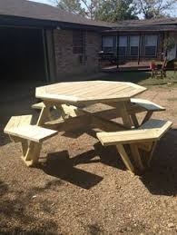 Interesting Octagon Picnic Tables Plans And 7 Best Home by Diy Eight Seater Octagonal Picnic Table Plans L Build Easy Plans