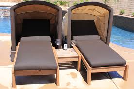 Outdoor Canopy Chair Soldura Sustainable Outdoor Furniture Cabanas Chaise Lounges