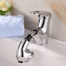 Copper Bathroom Faucet by Pull Out Copper Bathroom Faucet With Shower Water Presented To