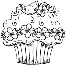 printable coloring pages zentangle cupcake zentangle coloring pages printable in tiny print draw