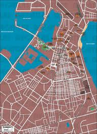 Djibouti Map Geoatlas City Maps Djibouti City Map City Illustrator Fully