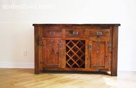 kitchener home furniture reclaimed wood buffet wine rack in kitchener ontario home