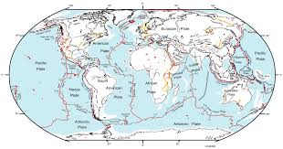 Earthquake Map Seattle by Fault Lines In The World Earthquake Map World Map Of Fault Lines
