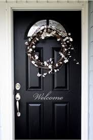 Black Front Door Ideas Pictures Remodel And Decor by Best 25 Black Exterior Doors Ideas On Pinterest Entry Way