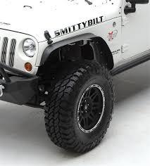 jku jeep truck smittybilt xrc fender flares jk jeep wrangler