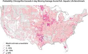 Data Map Predicting Pesticides In Streams And Rivers Where Is Water