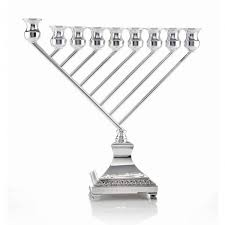 menorah modern chanukah menorah modern with filigree jjudaica