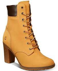 macys womens boots size 12 timberland s glancy 6 lace up boots boots shoes macy s