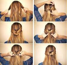 how to make your own hair bows how to make a bow out of your hair hair style hair affair and