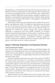 Character Sketch Essay Sample 3 Impacts Of Climate Change On Transportation Potential Impacts