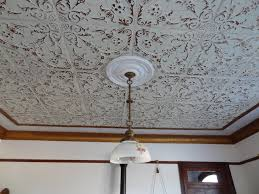 How To Put Up Tin Ceiling Tiles by Living Room Tin Ceiling Tile Installation American Made