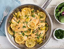 roasted lemon chicken with olives and capers valerie u0027s keepers