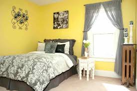 Yellow Bedroom Design Ideas Decoration Gray And Yellow Decorating Ideas