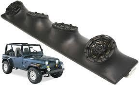 jeep wrangler speaker jeep wrangler yj tj jk kicker package ds525 custom 4 5 1 4