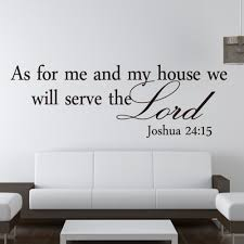popular bible wall art buy cheap bible wall art lots from china as for me and my house bible quote chirstian home wall decals sticker decorative adesivo de