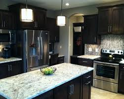 kitchen wall colors with dark cabinets beautiful wall color dark cabinets 79 for with wall color dark