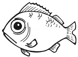 fish outline coloring page simple fish outline az coloring pages clip art library