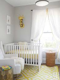 Yellow Nursery Decor Baby Nursery