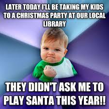 Christmas Party Meme - livememe com success kid