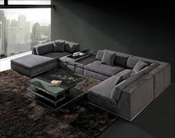 sofa beds design glamorous modern large fabric sectional sofas