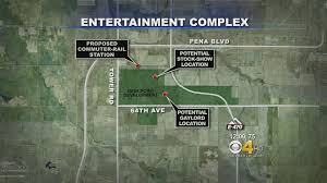 Aurora Map Downtown Denver Business Could Suffer With Proposed Aurora Resort