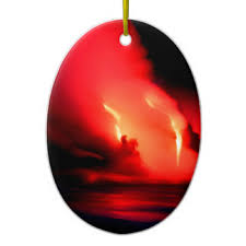 hawaii volcano ornaments keepsake ornaments zazzle