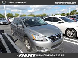 gray nissan sentra 2014 used nissan sentra 4dr sedan i4 cvt sr at royal palm toyota