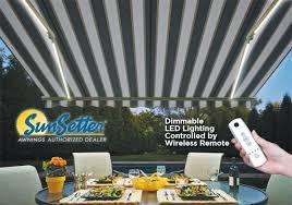 Sunsetter Awnings Reviews Led Lighting
