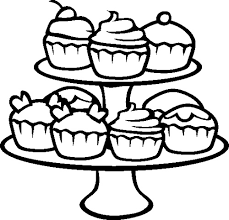 cupcake coloring pages print print fairy cupcake