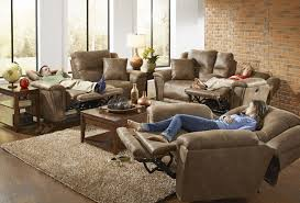 Power Reclining Sofa And Loveseat by Collin Silt Lay Flat Power Reclining Sofa Loveseat W Storage
