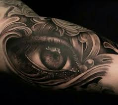 bicep eye za pravene tatto and