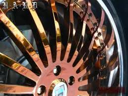 copper chrome paint bmw wheels youtube